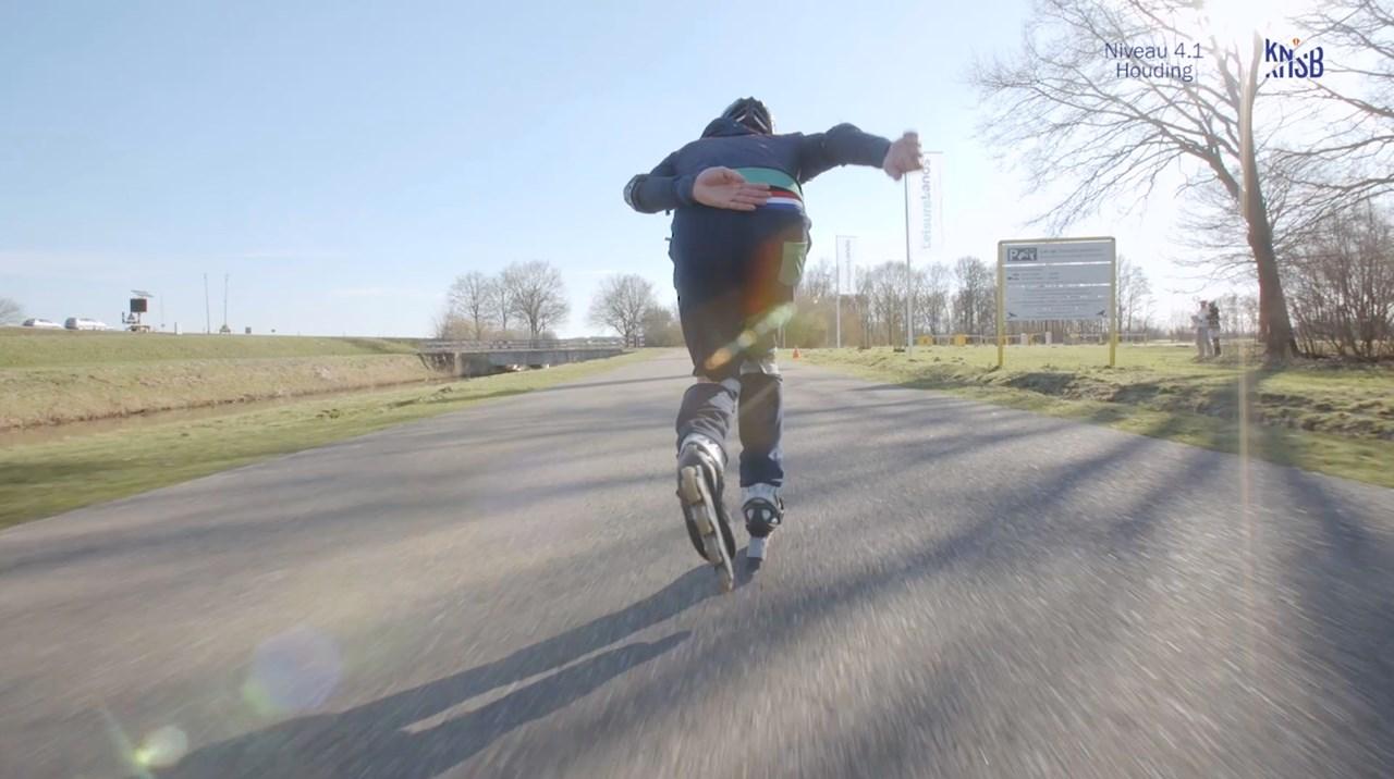 Start to Skate: niveau 4