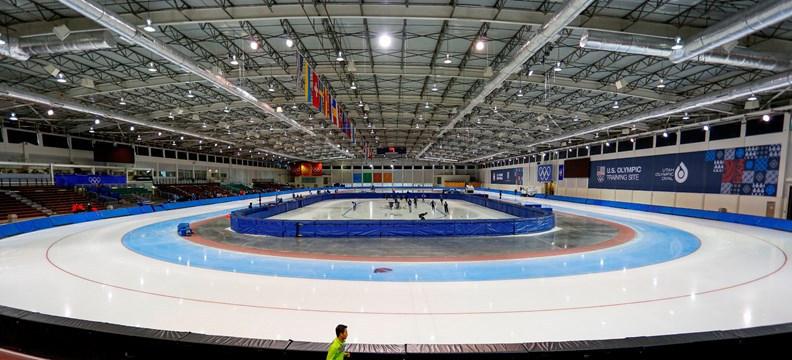 Utah Olympic Oval, Salt Lake City