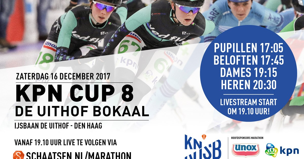 VIDEO: Livestream KPN Marathon Cup 8