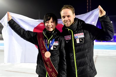 Miho Takagi met Johan de Wit