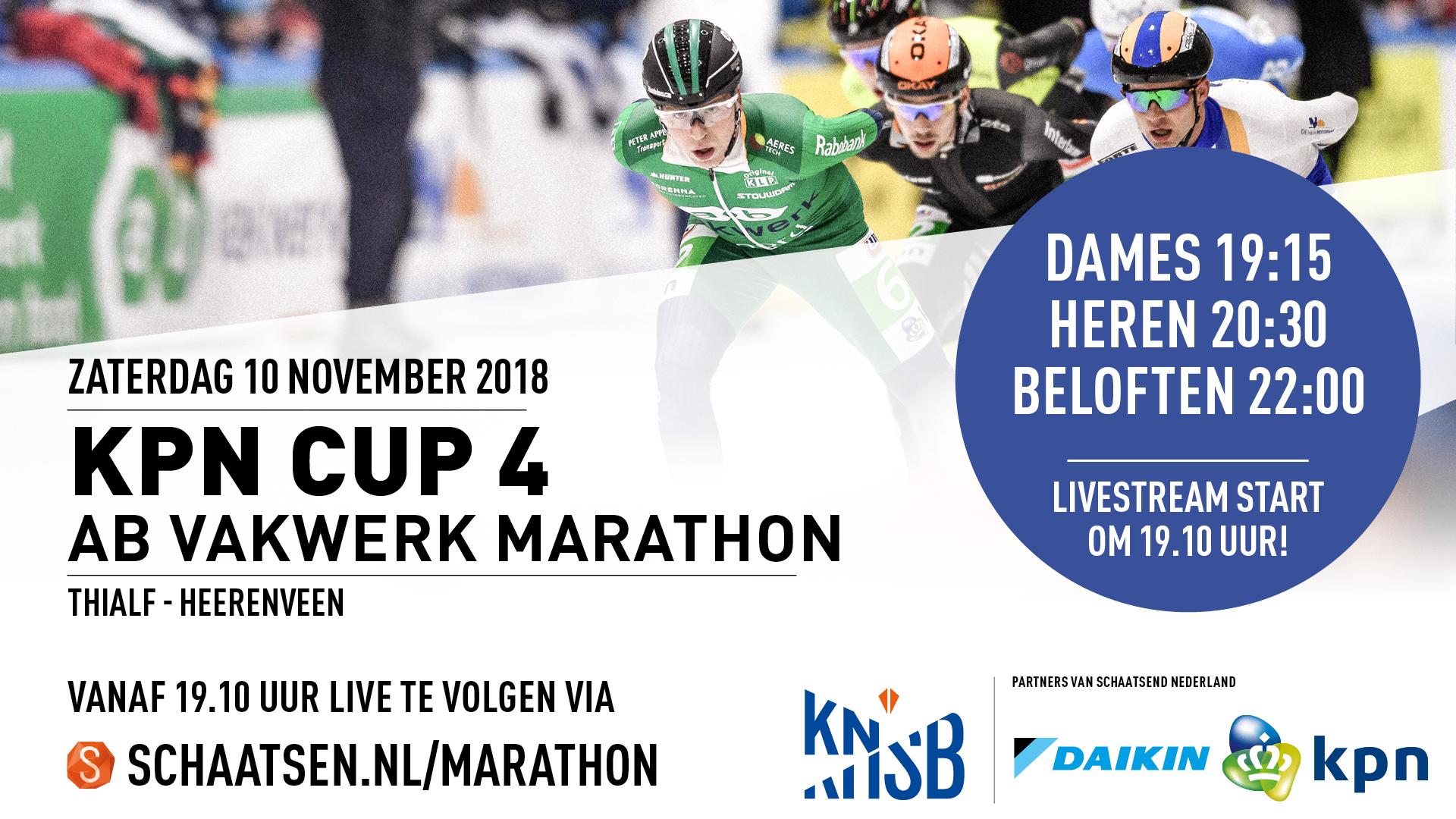 kpn ab vakwerk marathon cup 4 heerenveen