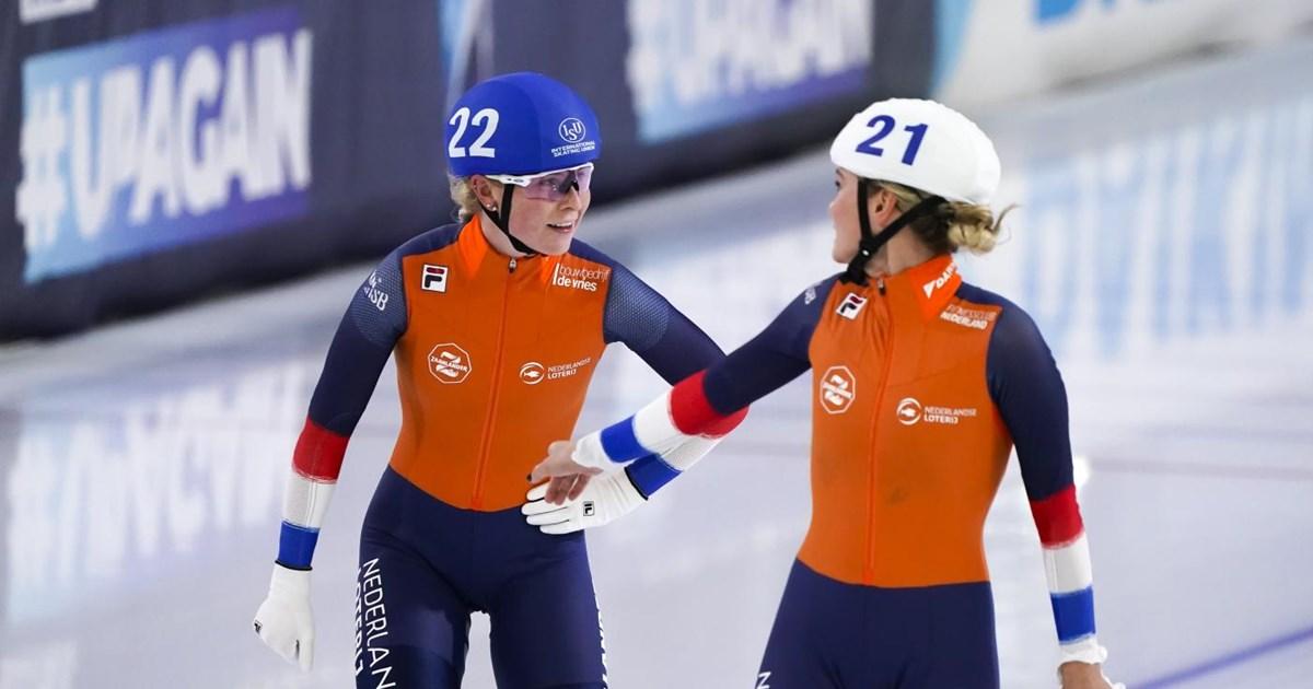 Groenewoud 'per ongeluk' wereldkampioen: 'Had best even kunnen juichen' - Schaatsen.nl
